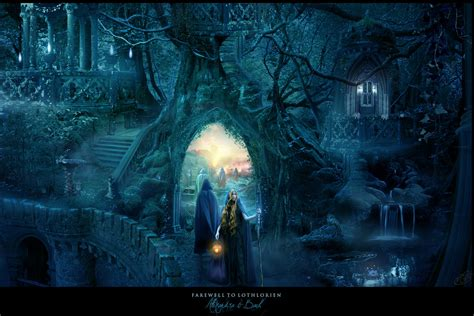 Lord Of The Rings Hd Wallpaper Farewell To Lothlorien By Alexandravbach On Deviantart