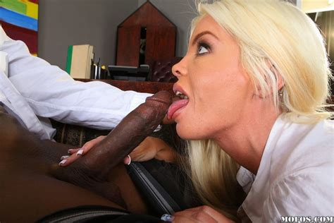 blonde milf drilled by black cock in her office pichunter