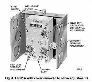 Honeywell Dual Aquastat L4081b Wiring Diagram
