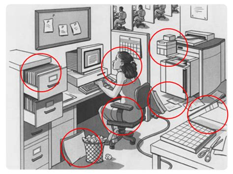 aux bureaux la chasse aux risques dans le bureau enseignants