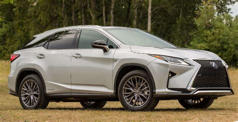 lexus rx 450h 2020 2020 lexus rx450h f sports release date changes colors