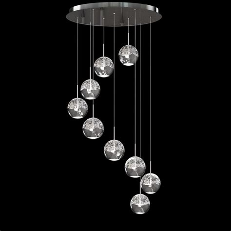 led pendant light fixtures acrylic led ring chandelier