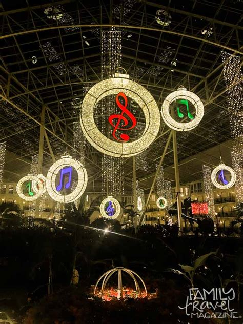 gaylord opryland hotel christmas events family travel