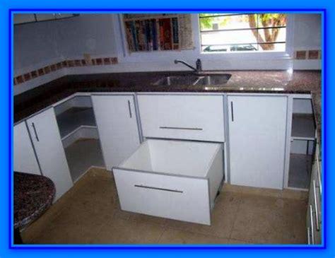 muebles de cocina detalle  instalar cajones