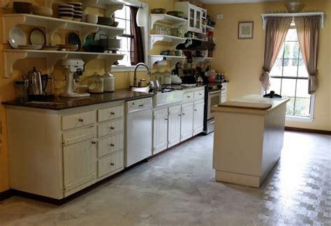 paint linoleum floor kitchen linoleum kitchen flooring ideas 3948