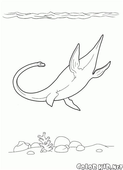 dibujo  colorear ultrasaurus