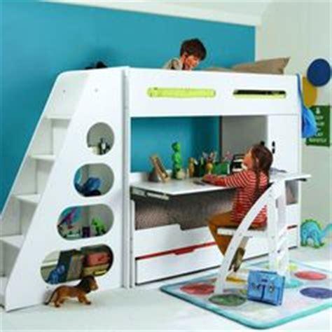 bureau pour ado gar輟n chambre merveilleux décor avec lit superposé et un bureau d 39 étude amusante en dessous et escaliers modeste couleur blanche à acheter