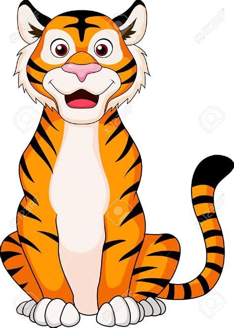 tiger clipart cute pencil   color tiger clipart cute