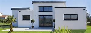 Maison Moderne Toit Plat : constructeur maison toit terrasse cd72 jornalagora ~ Nature-et-papiers.com Idées de Décoration