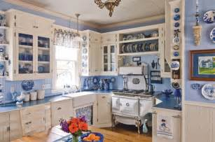 c dianne zweig kitsch 39 n stuff decorating your vintage cottage kitchen in french blue and white