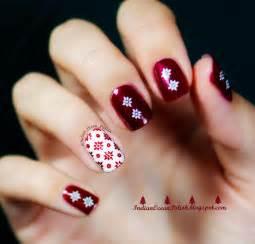 Indian ocean polish christmas nail art ideas simple