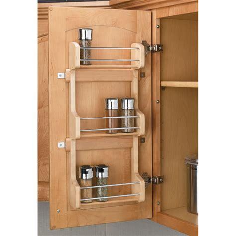 rev a shelf spice rack door mount spice rack by rev a shelf kitchensource