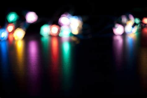 photo of festive lights background free christmas images