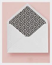 envelope template   printable sample
