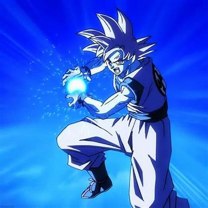 Goku Kamehameha Dragon Ball Gifs Anime Vegeta