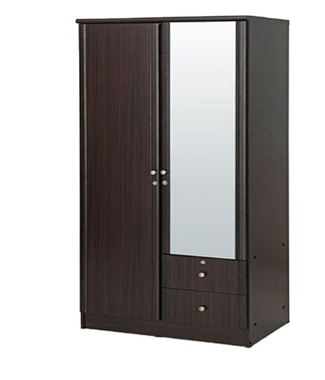 2 Door Wardrobe by Solid Wood 2 Door Wardrobe With Mirror Buy At Best