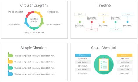 How To Set Up A Powerpoint Template by Smart Goals Powerpoint Template Presentationdeck