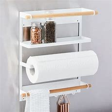 Magnetic Kitchen Organization Rack  West Elm
