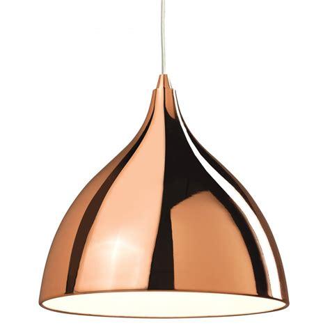 firstlight cafe single light copper effect ceiling pendant
