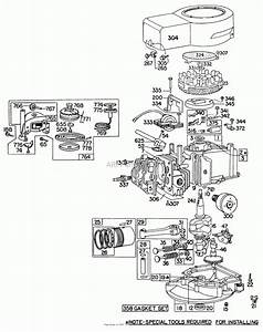 Briggs And Stratton Engine Parts Diagram Pictures To Pin