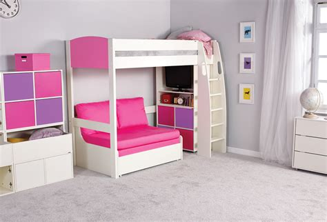 High Sleeper Bed With Sofa by Stompa Uno S High Sleeper Sofa Bed