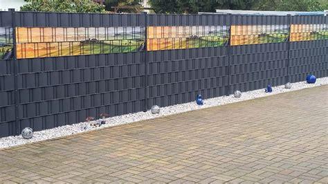 Schöner Wohnen Sichtschutz by Ein Sch 246 Ner Sichtschutzzaun Aus Individuell Bedruckten