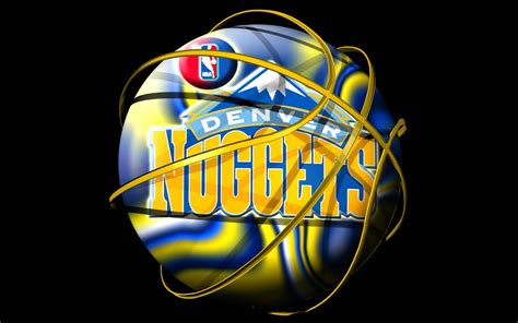 denver nuggets nba logo wallpaper nba basketball logo