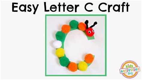 easy letter c craft preschool alphabet resource 258 | maxresdefault