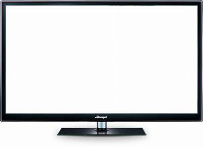 Tv Screen Transparent Background Lcd Icon Flat