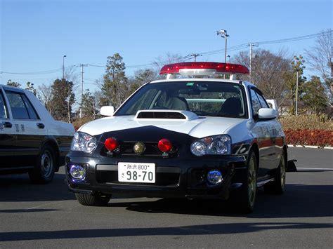 subaru japanese file japanese subaru impreza wrx sti police car jpg