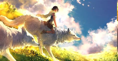 Wolf Anime Wallpapers - princess mononoke anime wolf anime wallpapers hd