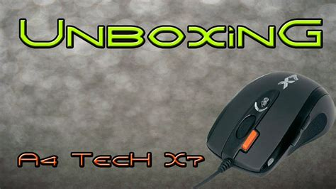 Unboxing A4 Tech X7 Xl 750 Bk Gaming Mouse Youtube