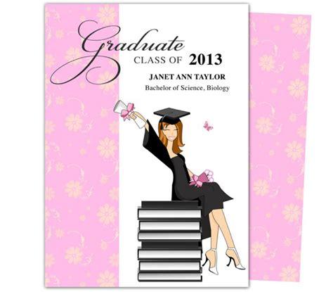 grad invites template 40 free graduation invitation templates template lab