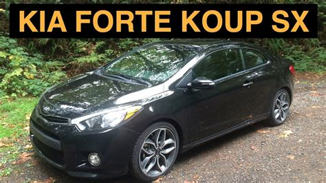 Forte Koup Reviews by 2015 Kia Forte Koup Sx Review Test Drive