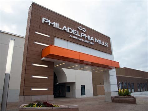 philadelphia mills citys largest mall drops franklin