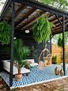 Patio DIY • Painted Floor Tiles — OLD BRAND NEW pinterest outdoor patio tiles