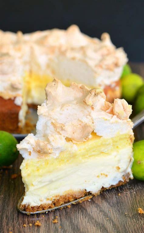 key lime pie cheesecake  cook  smiles
