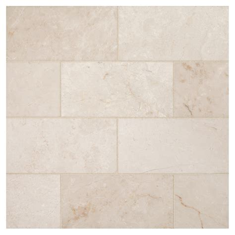 marble subway tile bourges beige polished 3 quot x 6 quot natural stone marble subway tile