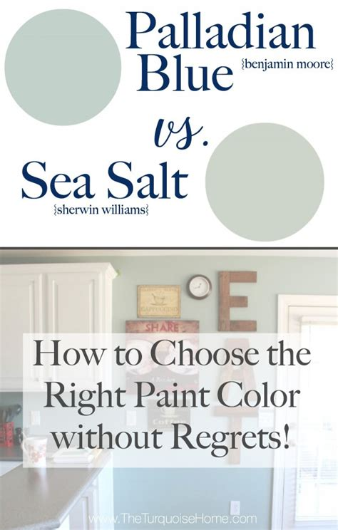 sea salt  palladian blue choose paint colors