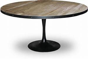 Table Ronde 140 Cm : table ronde bois prix et mod les sur le guide d 39 achat kibodio ~ Teatrodelosmanantiales.com Idées de Décoration