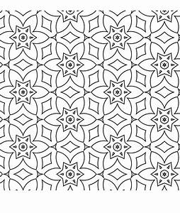 Free Coloring/Painting Pages: 2 Geometric Designs ...