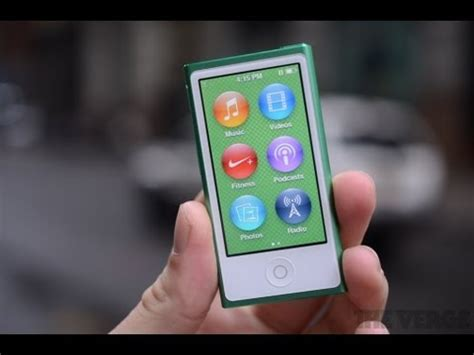 apple ipod nano review  generation youtube