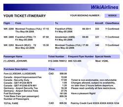 gli svantaggi dei biglietti elettronici viaggiamo