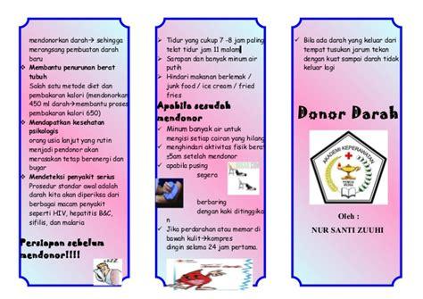 leaflet donor darah akper pemda muna
