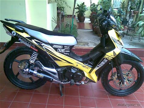 Modifikasi Motor Supra X 125 Underbone by Next Modification Car And Motorcycle Sport Honda Supra X