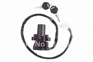 Motorcycle Scooter Ignition Switch  U0026 Lock With Key For