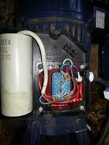 15f3c3 Single Phase Capacitor Start Induction Motor Wiring
