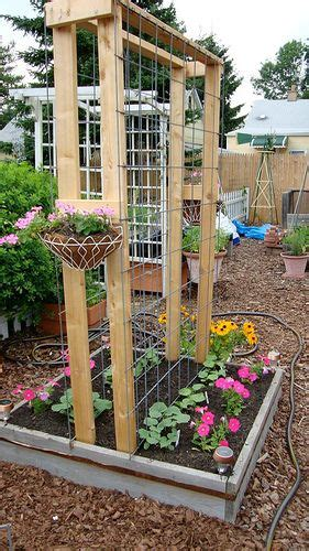 Garden Fence Trestle by Cheap And Chic Curtains Made From Canvas Or A Drop Cloth