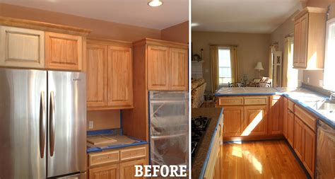 venetian plaster finish kitchen cabinet painting with a higher degree of detailing