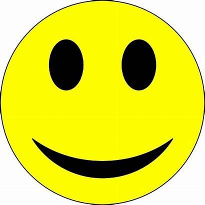 Smiley Face Clip Happy Clipart Smile Vector